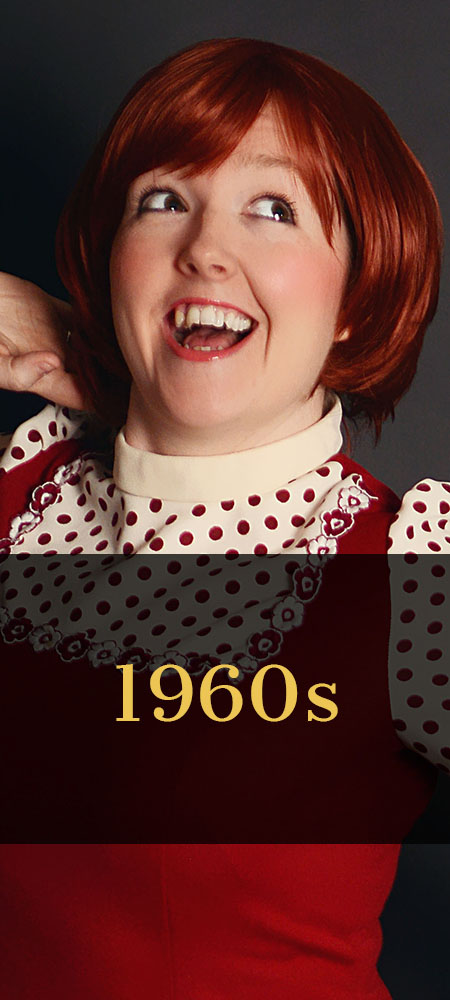 Maddie Cole performs her 60s tribute
