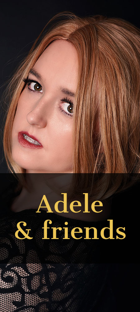 Maddie Cole as Adele tribute