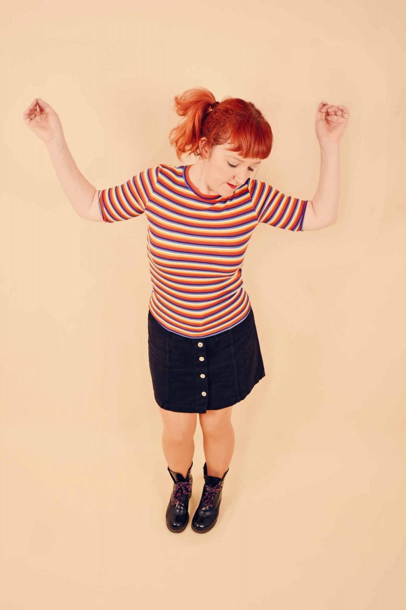 Maddie Cole performs the indie and britpop hits of the 90s as part of All About the 90s