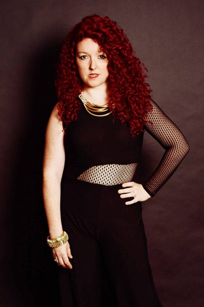 Maddie Cole performs her tribute to Jess Glynne